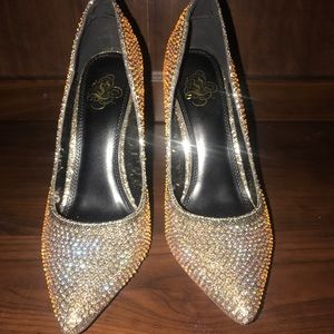 Shoes - Sparkling high heels